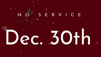 No Service Flyer